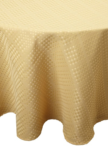 Bardwil Evolution Round Tablecloth (Straw)