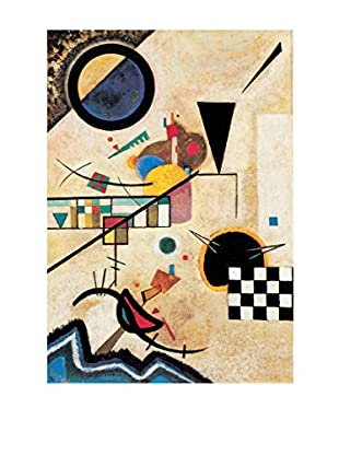 Artopweb Panel Decorativo Kandinsky Solidi In Contrasto 1924 - 100x70 cm