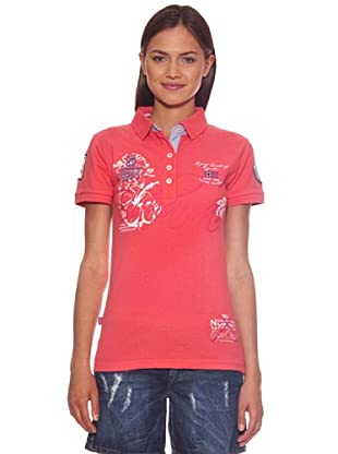 Geographical Norway Polo Karaibes (Coral)