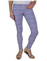 kotty women's printed cotton legging