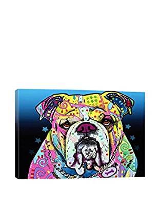 Dean Russo The Bulldog Gallery Wrapped Canvas Print