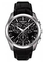 TISSOT T035.617.16.051.00 Couturier Chronograph Black Men Wrist Watch