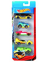Hot Wheels Five-Car Assortment Pack, Multi Color