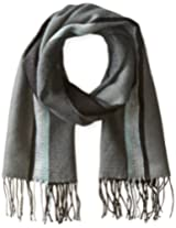 Haggar Men's Woven Striped Scarf