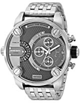 Diesel End of Season Daddy Chronograph Analog Grey Dial Men's Watch - DZ7259