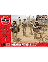 British Forces Infantery Patrol, Airfix Figuren 1:48, 03701