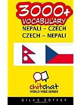 3000+ Nepali - Czech Czech - Nepali Vocabulary
