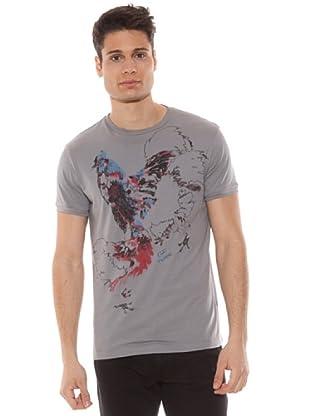 Gianfranco Ferré Camiseta Estampado Gallo (Gris)