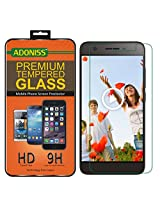 Adoniss Premium Tempered Glass Screen Protector For Micromax Canvas Juice 4G Q461