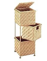Neu Home 3-Drawer Swing Basket Unit