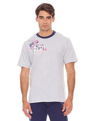 La Martina Camiseta Lides Corta (Gris)