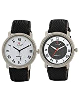 Evelyn Combo of Analogue Multi-Colour Dial Men's Watch - BW-047