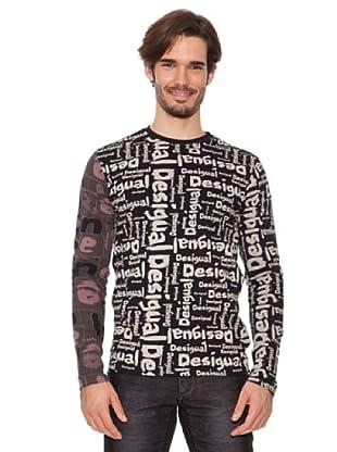 Desigual Camiseta Ente (Negro)