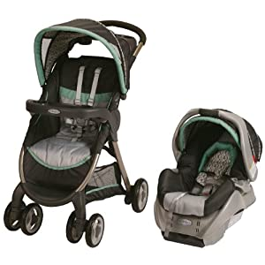 Graco FastAction Fold Classic Connect Travel System/SnugRide Classic Connect, Richmond