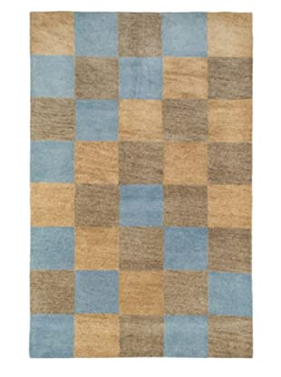 Tottenham Court Aspen Rug, Brown/Blue, 8' x 11'