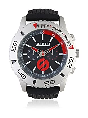 Sparco Orologio Man Jackie Nero/Rosso 42 mm