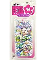 Scunci Girl No Damage Polyband Elastics - 500 Pk.