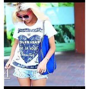 VI High Style Royal Blue Hand Bag