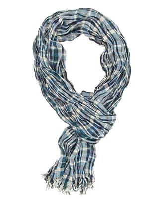 Dockers Foulard a Cuadros (Azul)