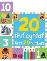 20 Rhif Cyntaf / First 20 Numbers