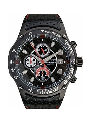 Rochet W105315 - Reloj de Caballero movimiento cuarzo con correa de piel Negro