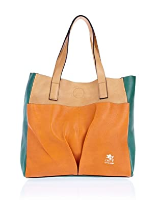 Otto Kern Shopper Multicolor L (Orange)
