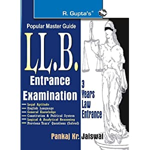LLB (3 Years Course) Entrance Exam Guide (Popular Master Guide) (Old Edition)