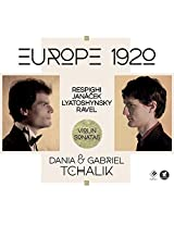 Europe 1920 - Violin Sonatas