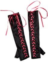 Seven Til Midnight Women's Lace-Up Gloves