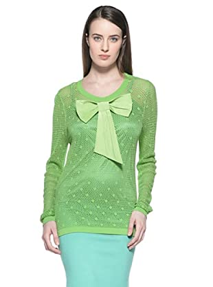 Etincelle Camiseta Rejilla Fluo (Verde)