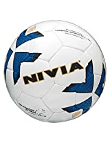 Nivia Shining Star Football, Size 5 (White)