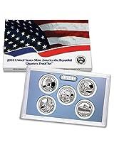 2010-S US Mint Proof National Parks Quarter 5pc. Set with box/COA