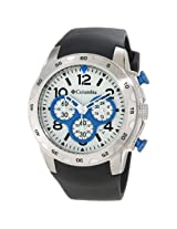 Columbia Unisex CA004045 Transit Black and Silver-Tone Analog Watch