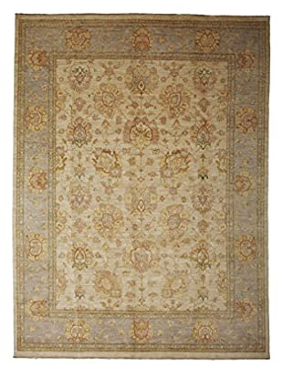 Solo Rugs Oushak Hand-Knotted Rug, Beige, 8' 3