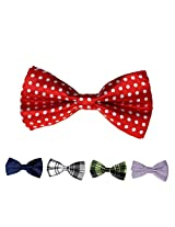 DBFF0003 Multi- Satin Boys Boys Pre-Tied Bow Ties Set Gift Giving - 5 Styles Available By Dan Smith