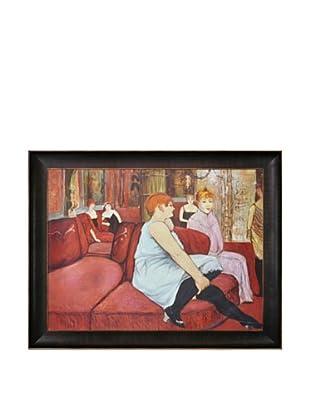 Toulouse Lautrec: Salon at the Rue des Moulins, 1894