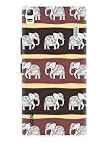 Noise Haathi Mera Saathi Printed Cover for Lenovo K3 Note
