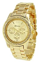 Crawford Boyfriend Watch- Gold