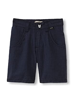Munster Kid's Checkered Past Shorts (Blue Check)