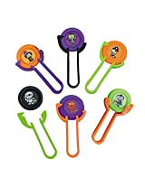Halloween Flying Disc Shooter Games Party Favor Packs 6 Pieces