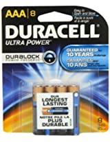 Duracell Ultra Power Aaa Batteries 8 Count