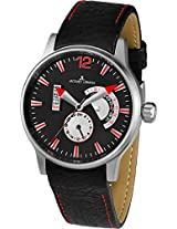 Jacques Lemans Analog Black Dial Men's Watch - 1-1741I