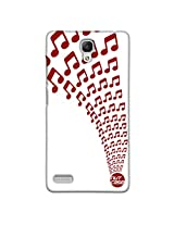 Designer xiaomi Note 4G Case Cover Nutcase - Musical Notes