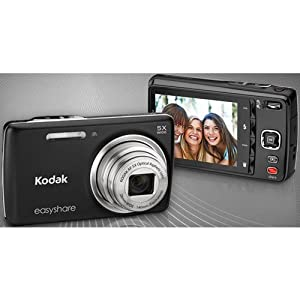 Kodak EasyShare M552 Digital Camera-Black
