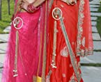 Beautiful dangler for sarees and lehengas to add charm to your outfit with pearl circle