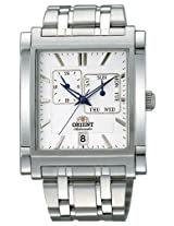 Orient Analogue White Dial Men's Watch-(SETAC002W0)