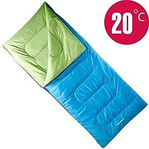 Quechua S20-Jr Sleeping Bag, Junior, Blue