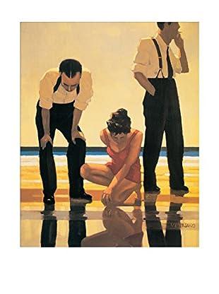ArtopWeb Panel de Madera Vettriano Narcissistic Bathers 40x32 cm