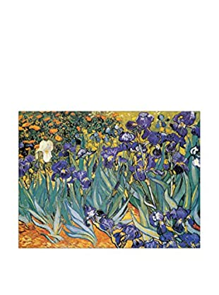 Artopweb Panel Decorativo Van Gogh Irises 80x60 cm Multicolor