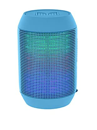 iPM Pump It Up LED Light Up Bluetooth Speaker, Blue